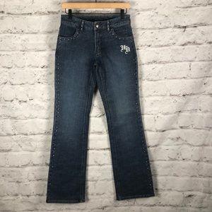 NWOT Harley-Davidson Bootcut Jeans Sz 2 Long